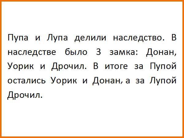 Лупа Анекдот