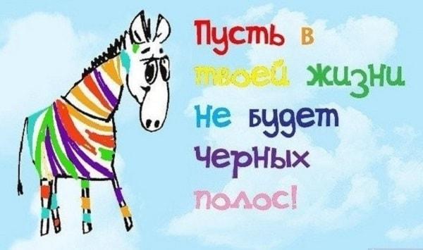 поздравление от зебры прикольное в стихах