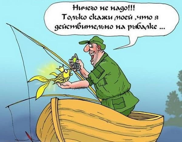 анекдот про рыбака и золотую рыбку