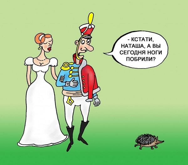 анекдоты про Наташу Ростову