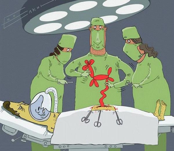 смешной анекдот про врачей и пациента
