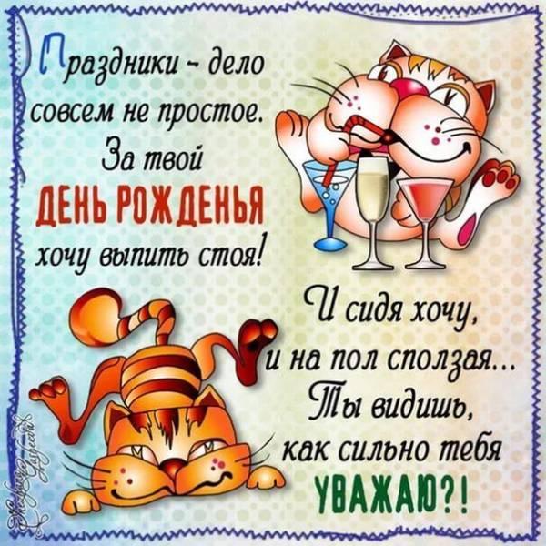 прикольные коты с поздравлениями
