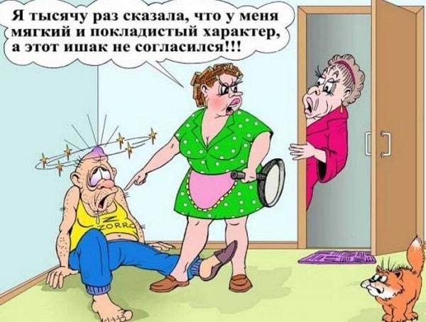 анекдот ржачный про жену
