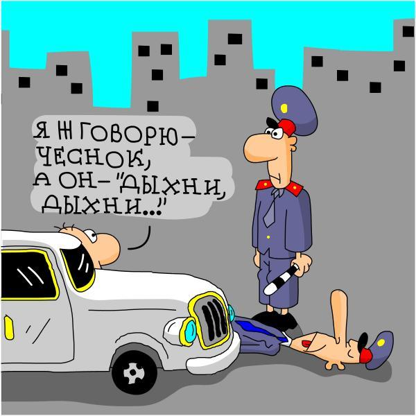 анекдот про гаишника и водителя