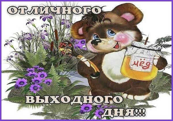 суббота картинка прикольная-5