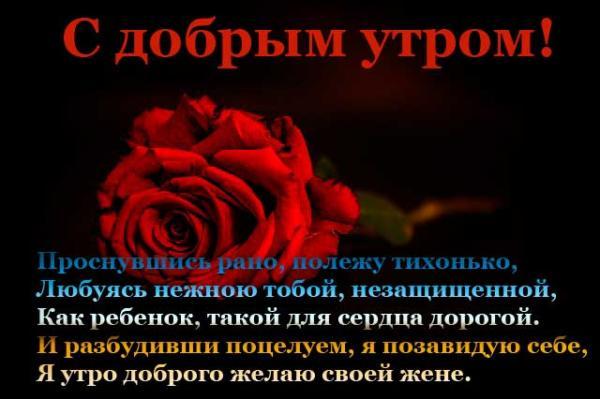 роза жене и пожелание