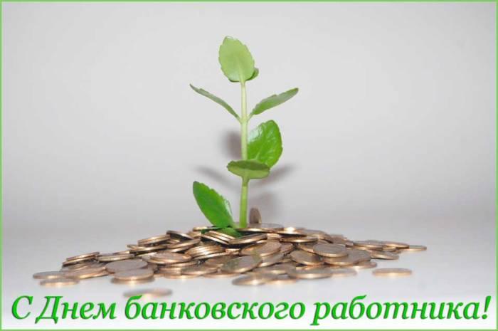 росток из денег
