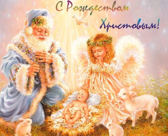 ангел и маленький Иисус