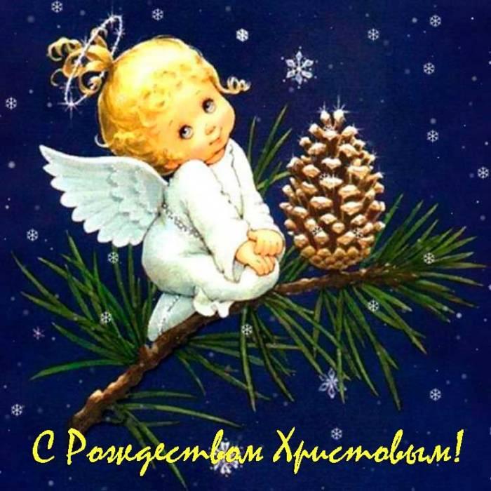 ангелочек на елке